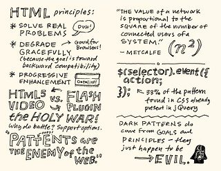AEA Minneapolis Sketchnotes: Jeremy Keith - 51-52 | by Mike Rohde