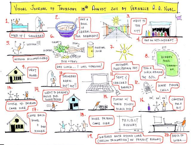 Visual Journal - 18 August 2011