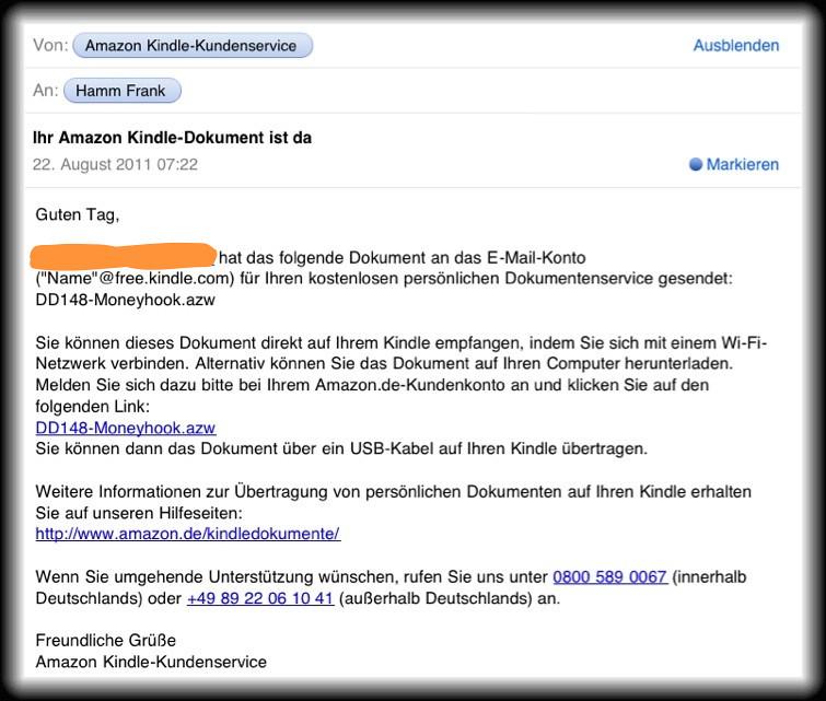 Daily Dueck Auf Den Amazon Kindle Schicken Artikel Auf Inj Flickr