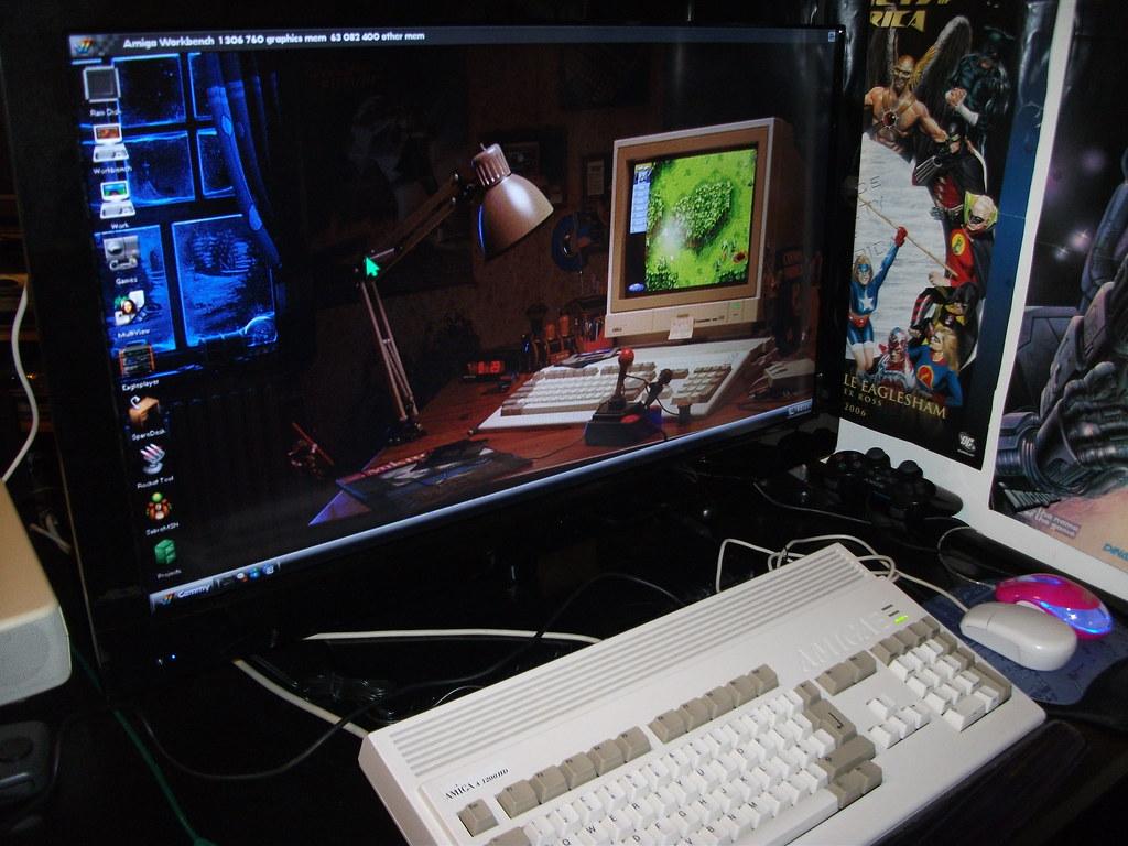 Amiga Workbench Amiga | Amiga Cammy | Flickr