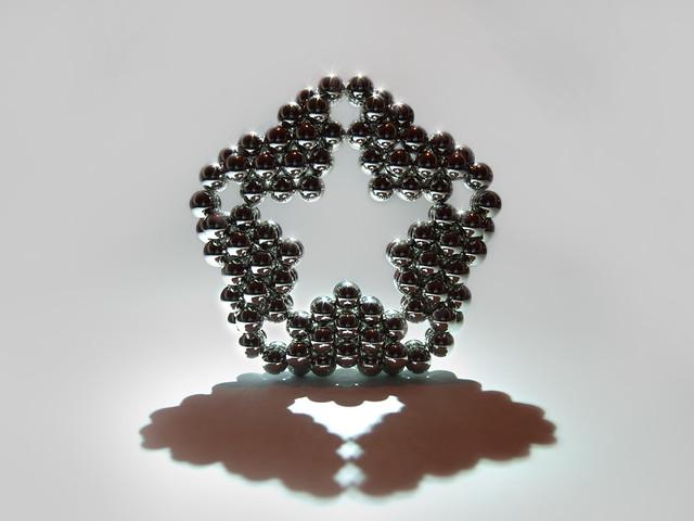 inset star shape