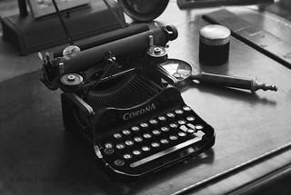 Boddy Typewriter | The typewriter of Elias Manchester Boddy … | Flickr