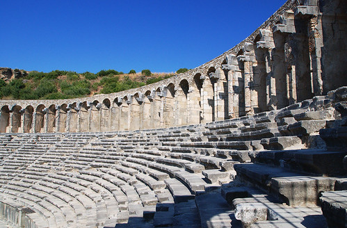 Aspendos theatre   by zolakoma