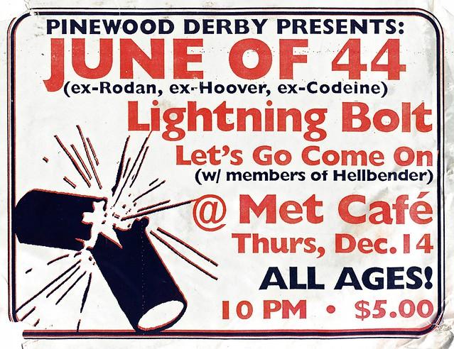 June Of 44 / Lightning Bolt / Let's Go Come On