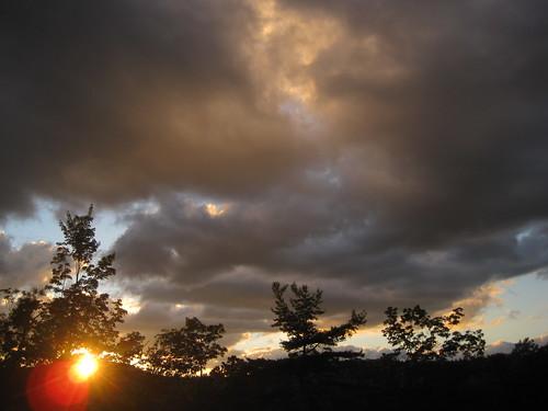 sunset geotagged us nc unitedstates wnc westernnorthcarolina gorgesstatepark