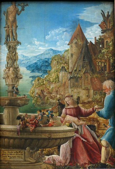 Albrecht Altdorfer, Die Ruhe auf der Flucht nach Ägypten (The rest during the flight into Egypt)