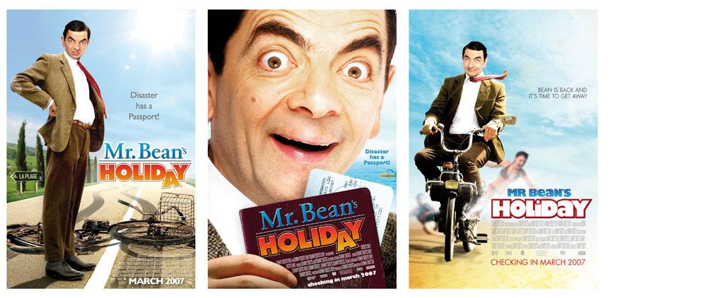 movie poster design   mr  bean u0026 39 s holiday