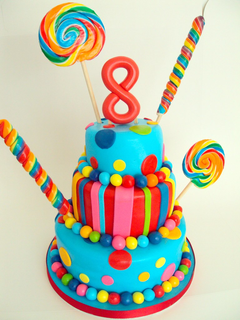 Astounding 8Th Birthday Cake Heavenly Cupcakes Flickr Funny Birthday Cards Online Inifodamsfinfo