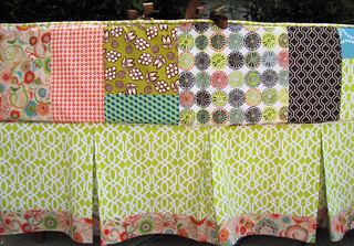 melissa's patchwork bumper and skirt