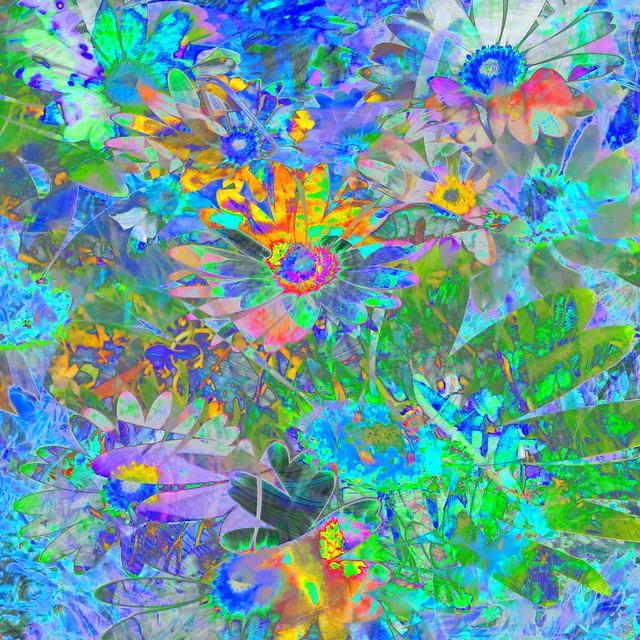 Daisy Fantaisy ~ Distracted Abstract
