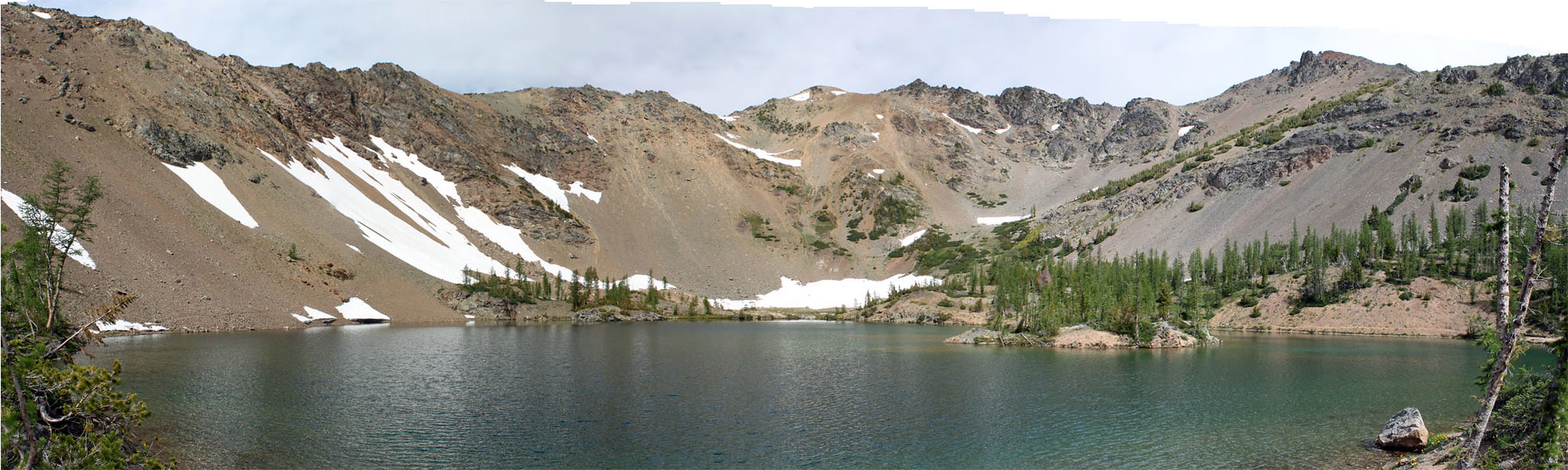Scatter Lake panoramic view