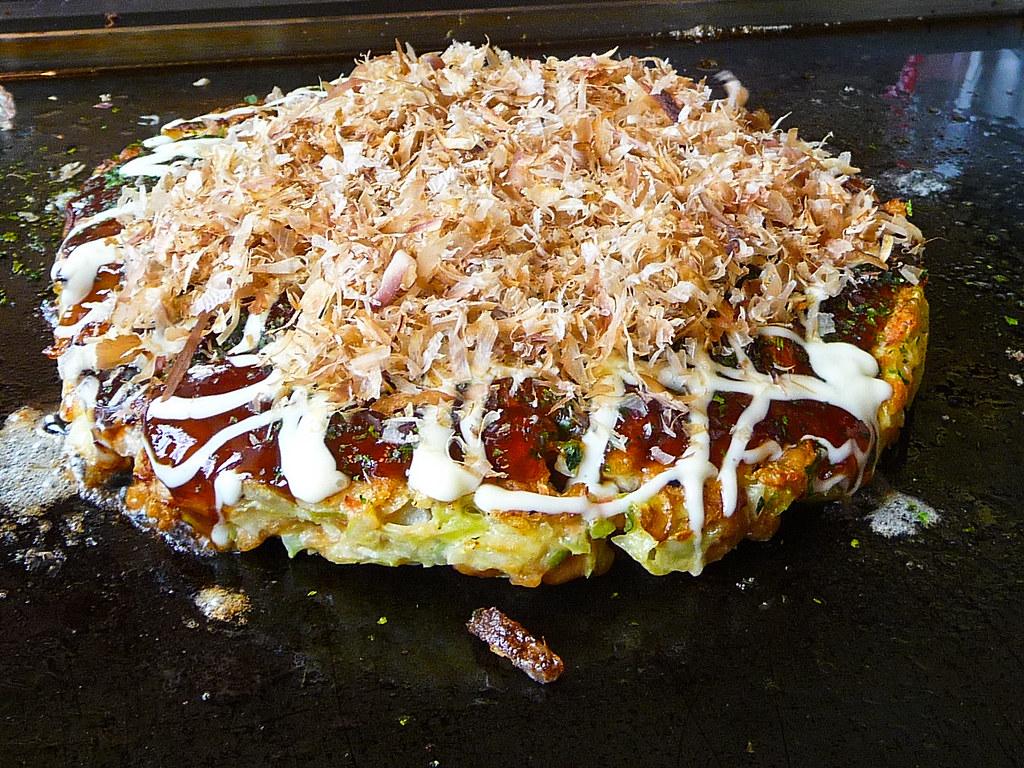 Okonomiyaki! | The shop in Shiojiri is by far the best okono… | Flickr