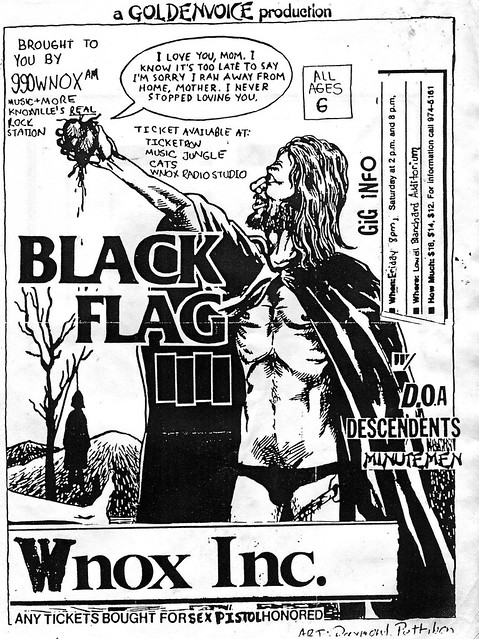Black Flag / D.O.A. / Descendents / Minutemen