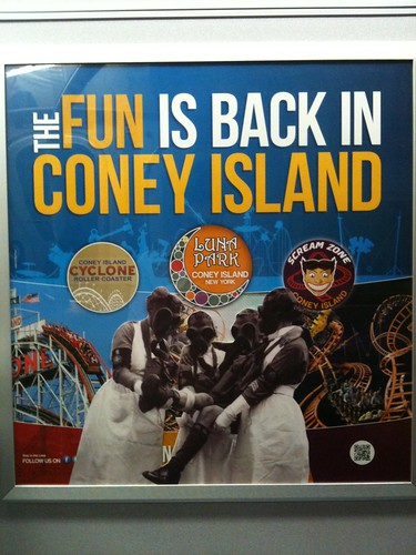 The fun is back in Coney Island / Trench Warfare, WWI | by Jilly Ballistic