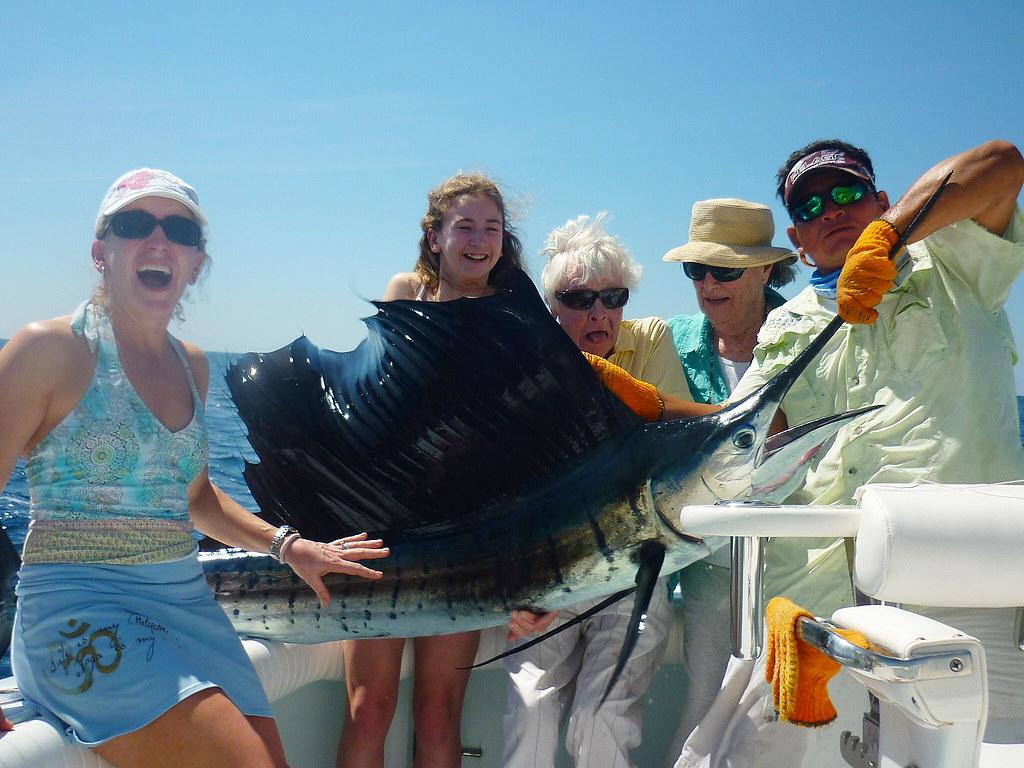 130 lb. Womens Record Roosterfish | Billfish Safaris