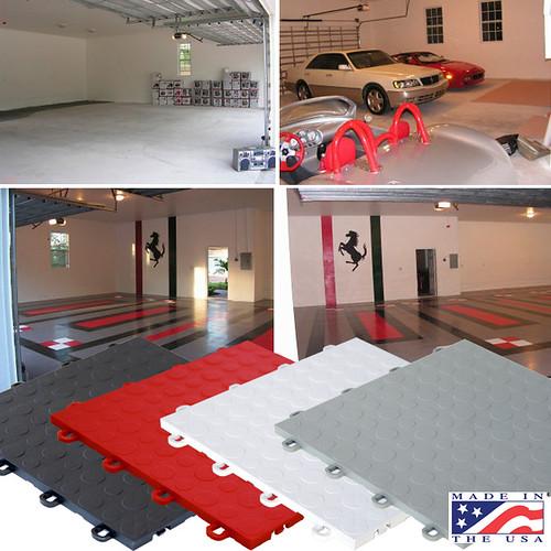 New Garage Flooring: Www.modutile.com/garage-floor-picture