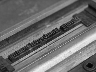 The Typographer's Last Words | by Sigfrid Lundberg