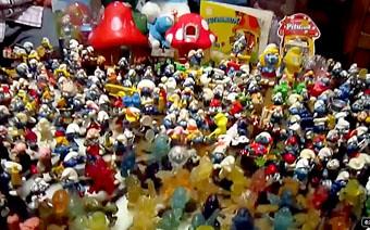 Los Juguete ToyFlickr Antiguo Vintage Pitufos Smurf Mexico iTOXkZPu