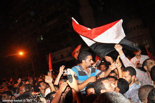 """Ahmed El-Shahat"" The man who removed the Israeli flag from Israel Embassy in Egypt - #FlagMan 