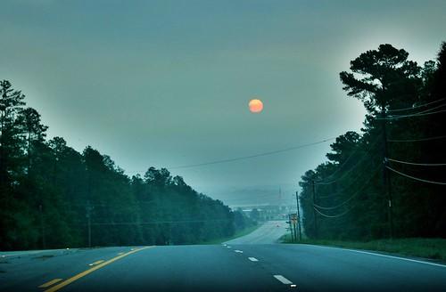 orange sun sunrise ga georgia nikond70 orangejuice hdr highdynamicrange hdri tobaccoroad augustaga nommy dynamicphotohdr dphdr sigmaaf70300mmf456apodgmacrolens