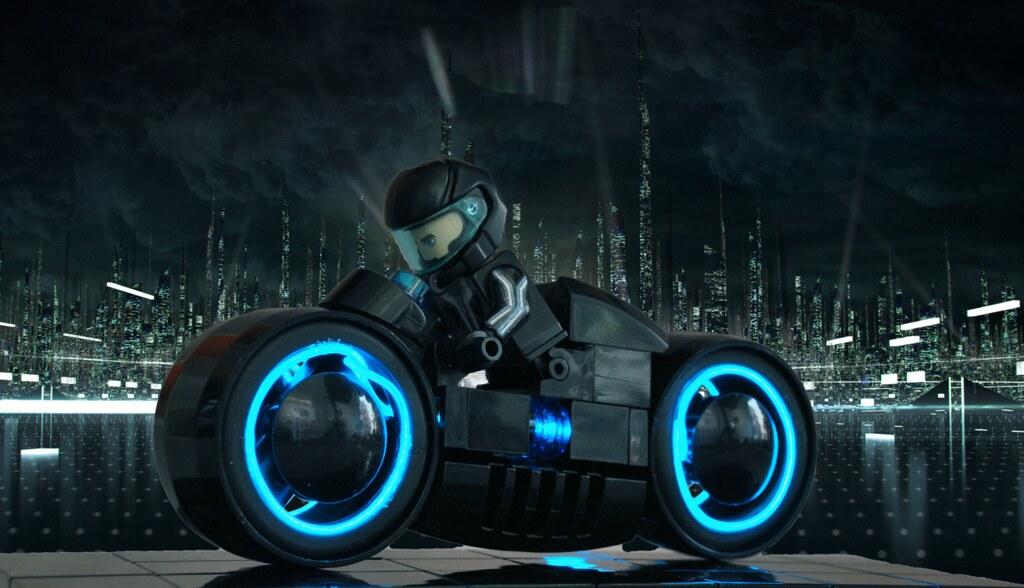 6081170826 24e675a9aa b Lego Lightcycle