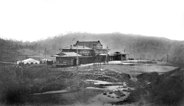City Hall of early Baguio, Philippines, early 20th century (1901-1904?)