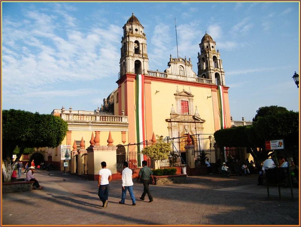 ¿Qué hacer en Cuautla? Visitar la iglesia de Santo Domingo.
