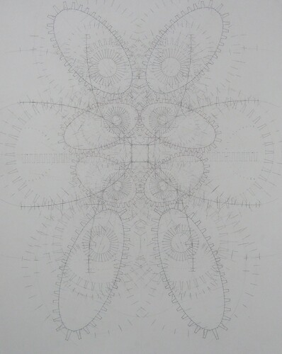 "Michael Meyers ""Symmetry Drawing 1"""