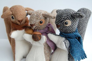 Fergus, Honey and Riley