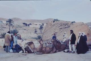 Desert Crossing in Tunisia Peace Corps '68 - '69