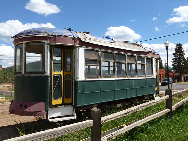 The Trolley in Victor