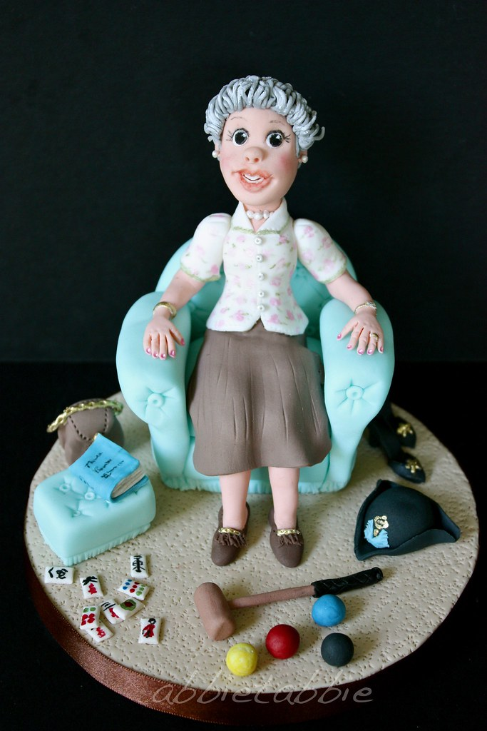 Fabulous Topper For A 90Th Birthday Cake This Is One O Flickr Funny Birthday Cards Online Ioscodamsfinfo