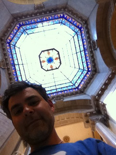 Steve w IN Capitol Dome | by lvscoop16