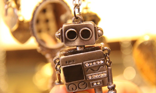 Robot Charm Necklace at The Stables - Camden, London | by ChrisGoldNY