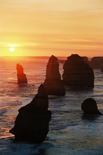 12 Apostles @ Great ocean road, Australia