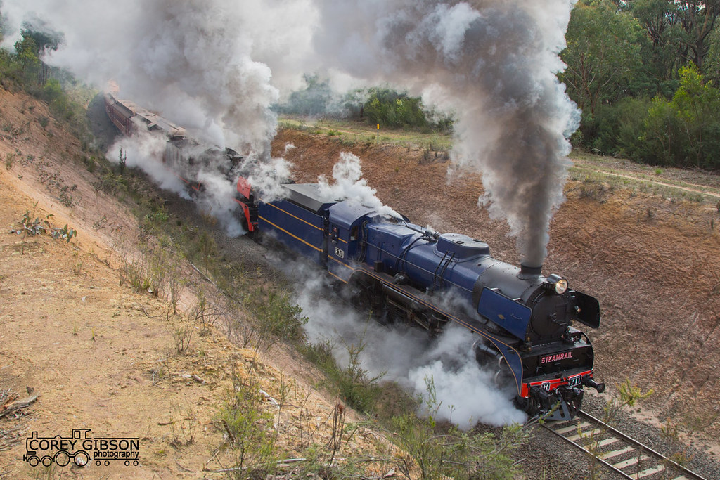 Steamrail Snow Train Tour through the Haunted Hills by Corey Gibson