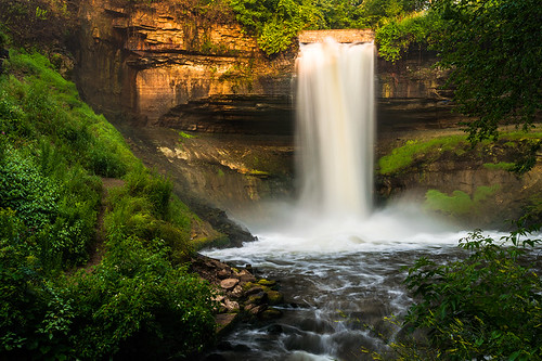 longexposure minnesota minneapolis waterfalls minnehaha minnehahafalls minnehahapark