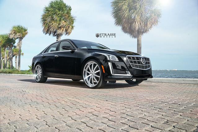 Strasse Wheels Cadillac CTS
