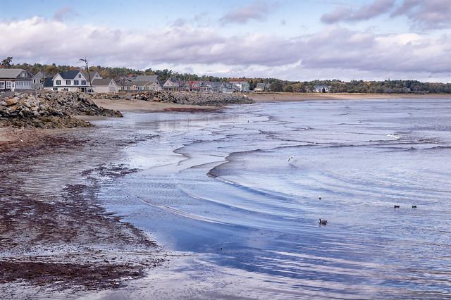 Ferry Beach, Low Tide