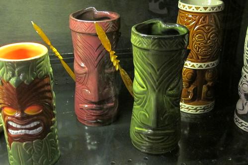 Doug Horne and Flounder tiki mugs | by The Tiki Chick