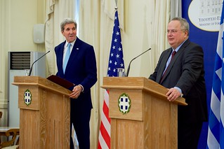 Secretary Kerry and Foreign Minister Kotzias Speak to the Press at News Conference in Athens
