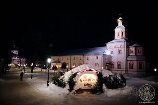 Великая вечерня в Иверском монастыре 25