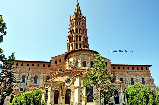 496 - Abside - Basílica Saint Sernin - Toulouse (France).