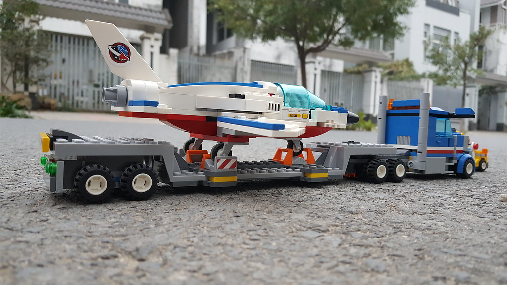 E LEGO] Lego Speed Build - Lego City 60079 Training Jet T