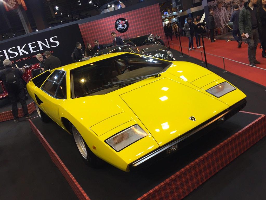 Lamborghini Countach Lp400 Retromobile Benoit Dujardin Flickr