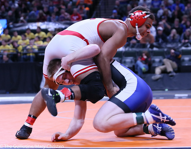 170AA - 1st Place Match - Patrick Kennedy (Kasson-Mantorville) 43-2 won by decision over Solomon Nielsen (Luverne) 37-1 (Dec 9-6)