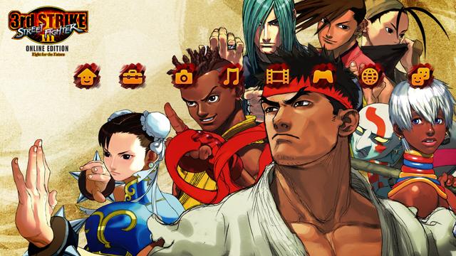 Street Fighter III: Third Strike Online Edition PS3 Theme | Flickr