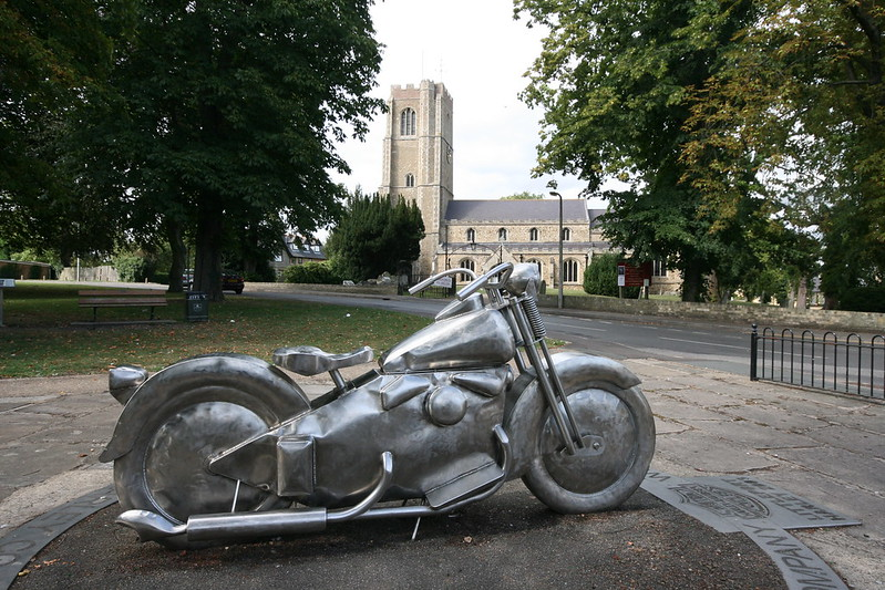 Harley Monument, Littleport, Cambs