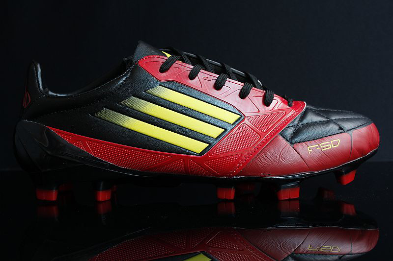 Adidas F50 adizero Yellow black