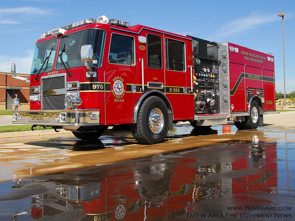 North Richland Hills Fire Engine 223 | 2010 KME C A F S  Pum